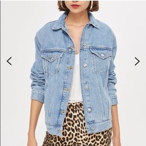 Top shop women's motto jacket size 4